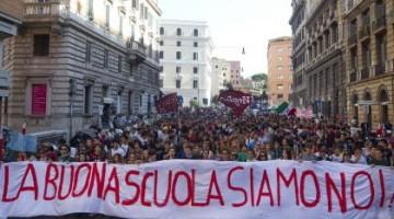 5 maggio la scuola sciopera: Corteo a Padova