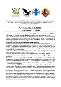 thumbnail of CS ENPA PD, CPP, GRIG,LAV_29-10-'15_Guardie e ladri