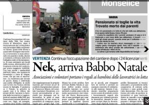 Gazzettino_2015-12-24_Monselice centro riciclo