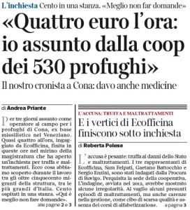 Corriere v.to_2016-04-05_Inchiesta Ecofficina truffa ai danni dello stato e maltrattamenti