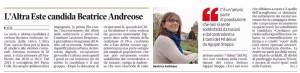 Mattino_2016-04-02_Este Andreose candidata