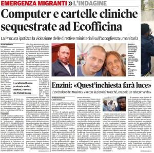 Mattino_2016-04-06_Indagini su Ecofficina e Maxim
