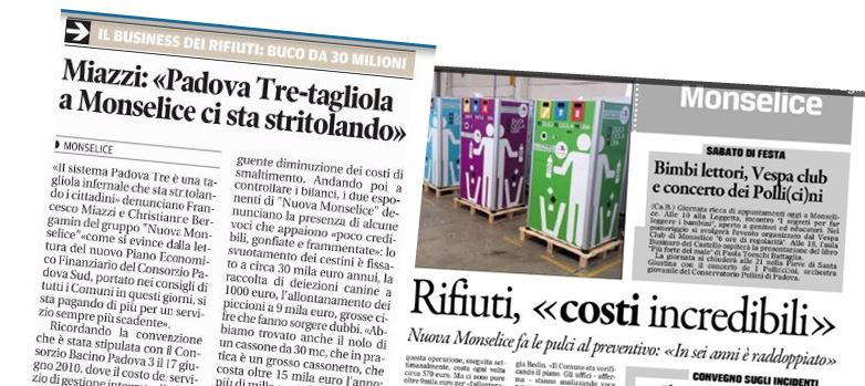 I cittadini stritolati dal sistema Padova T.R.E.
