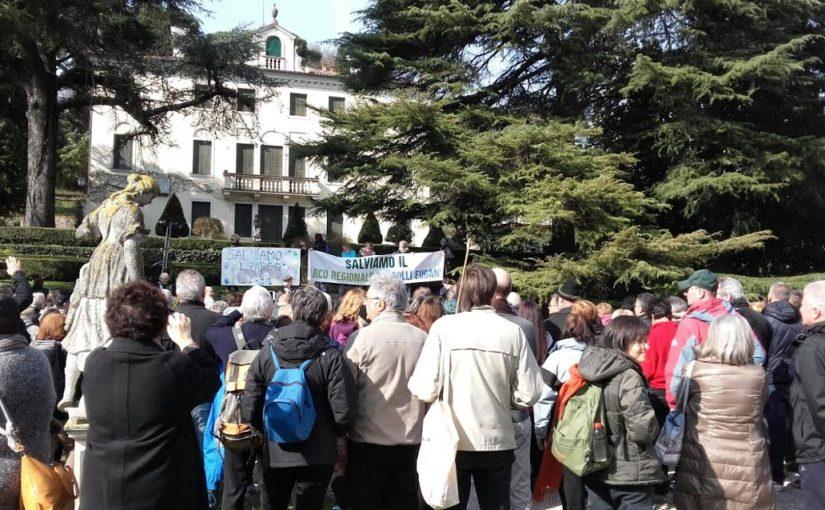 Ancora una grande partecipazione per difendere il Parco Colli
