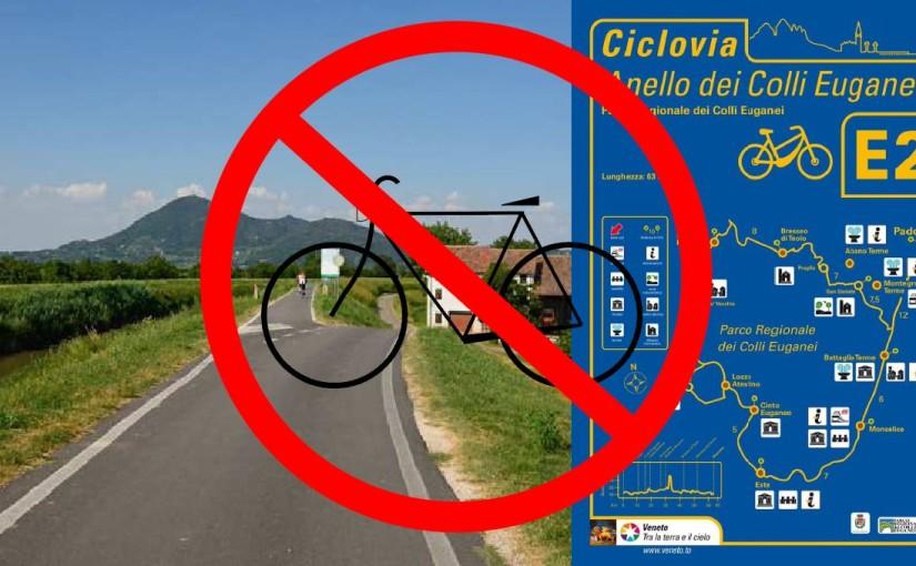 Esclusi dal bando i progetti di piste ciclabili dell'area parco: qualcuno ne dovrebbe rispondere!