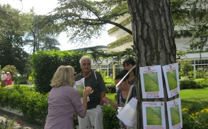Abano Terme: gli alberi di Viale Mazzini stanno morendo