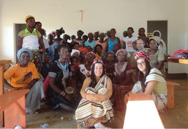Una goccia d'acqua in Burkina Faso