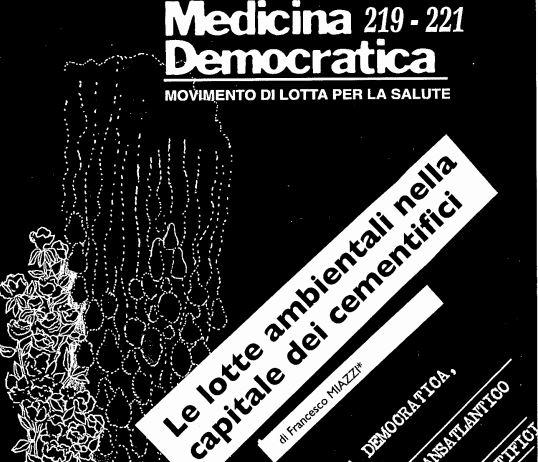 """""""Le lotte ambientali nella capitale dei cementifici"""" su Medicina Democratica"""