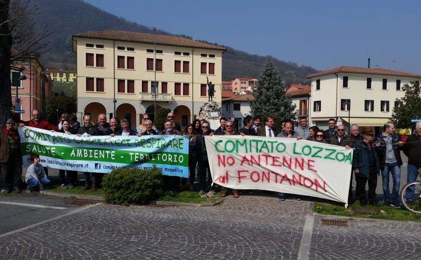 Lozzo Atestino: Comitati e cittadini mobilitati contro una nuova antenna