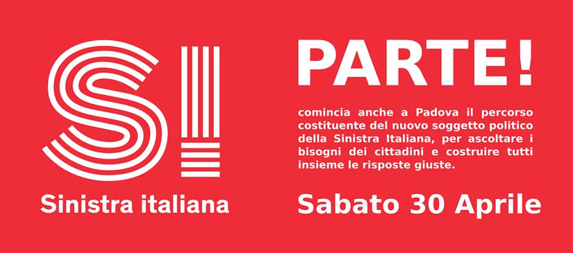 SI PARTE – diamo il via al percorso costituente a Padova