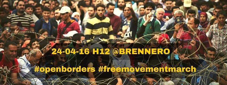 Marcia per la libertà di movimento – Free movement march!