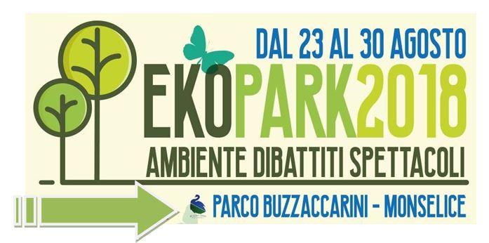 EkoPark 2018: dal 23 al 30 agosto nel Parco Buzzaccarini di Monselice
