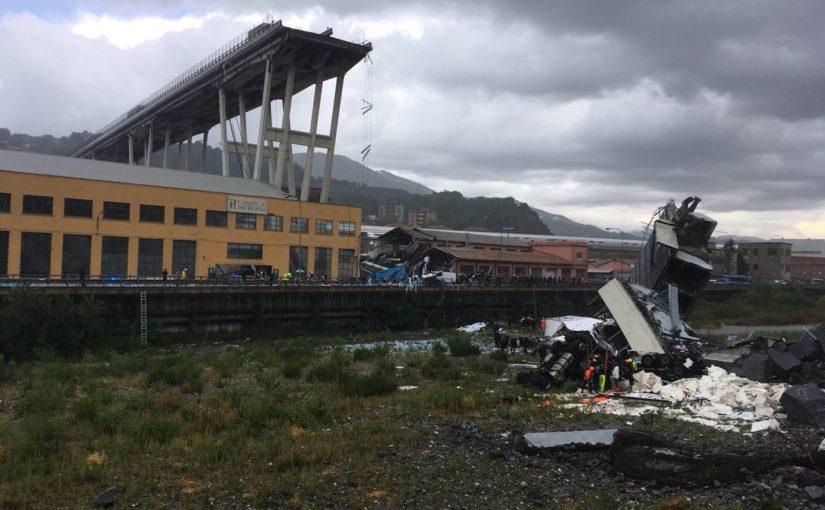 La tragedia del ponte Morandi: figlia della politica delle Grandi Opere e delle Privatizzazioni