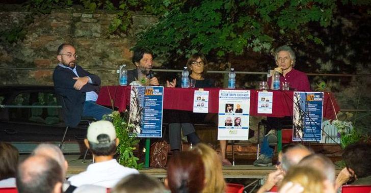 Per un'Europa senza muri: i video del dibattito al Parco Buzzaccarini