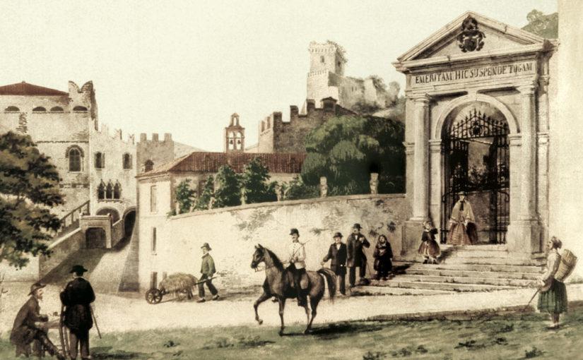 Rocca: incuria e degrado sulla Via del Santuario