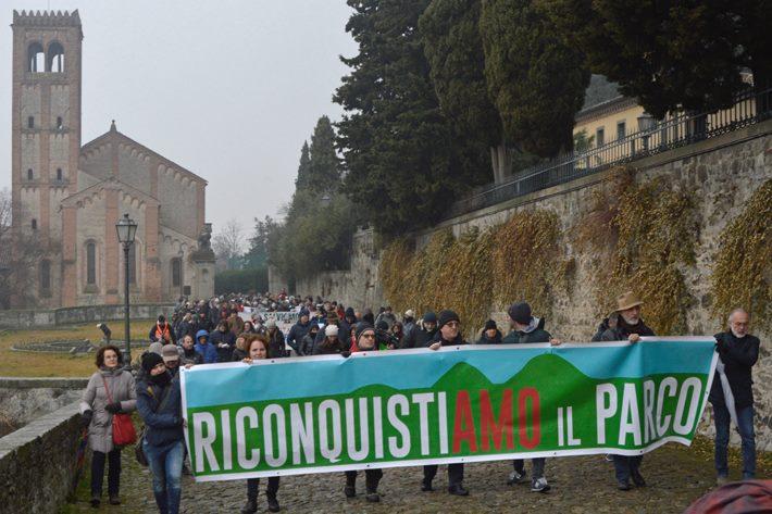 Per il Parco Colli, per la Rocca, per un territorio libero dai veleni