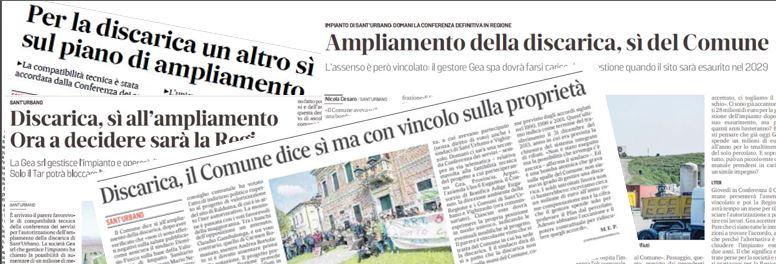 Discarica di Sant'urbano: il 10 settembre 2020 il TAR Veneto si pronuncia sulla nostra richiesta di sospensiva.