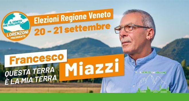 Miazzi si candida alle elezioni regionali del Veneto