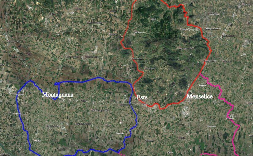 Tre anelli ciclabili per la promozione turistico-culturale dei Colli e della Bassa.